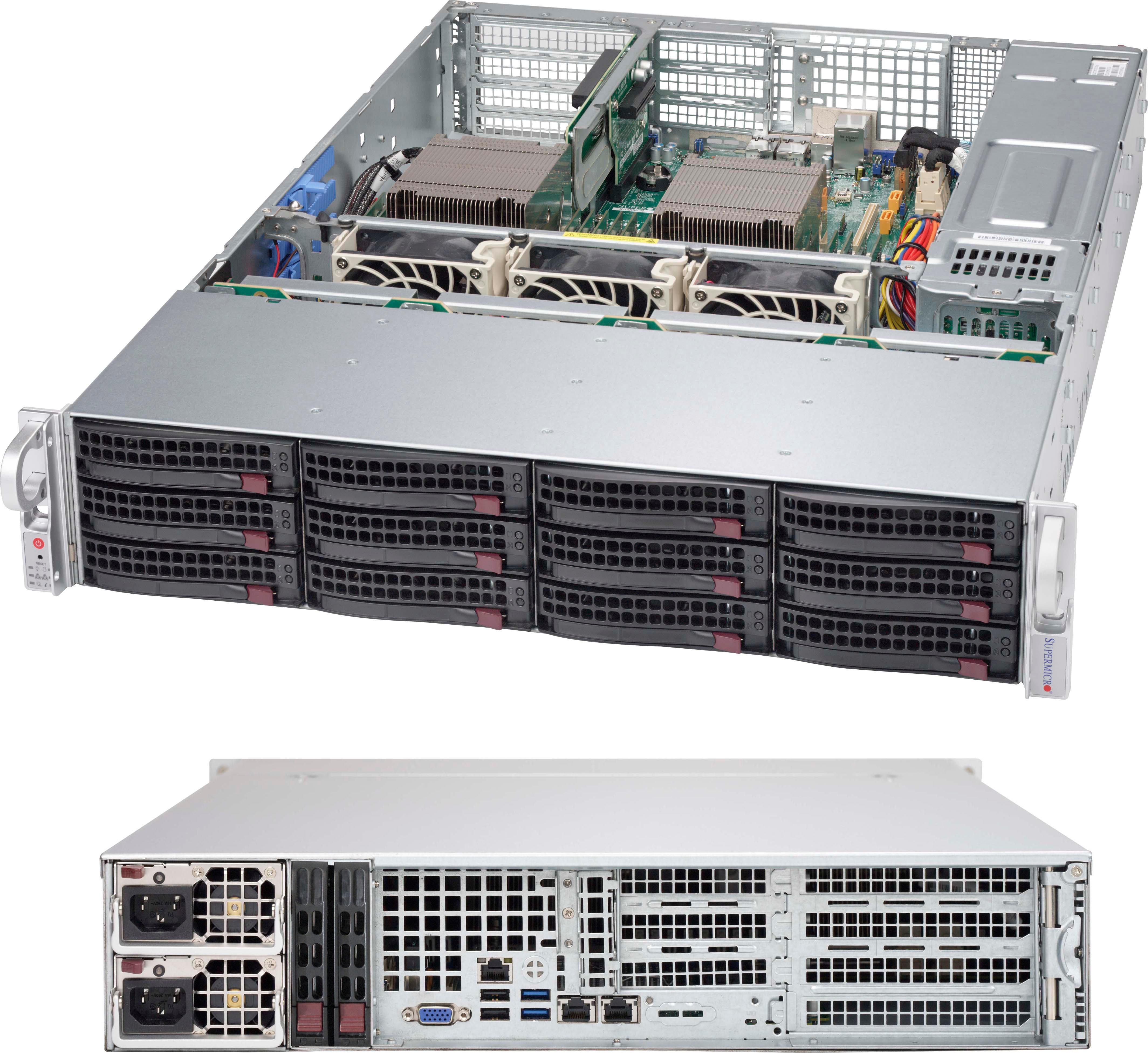 *NEW* Supermicro MCP-310-29001-0N SC825//826//216//213 Intel DP X9,X8 PC air shroud