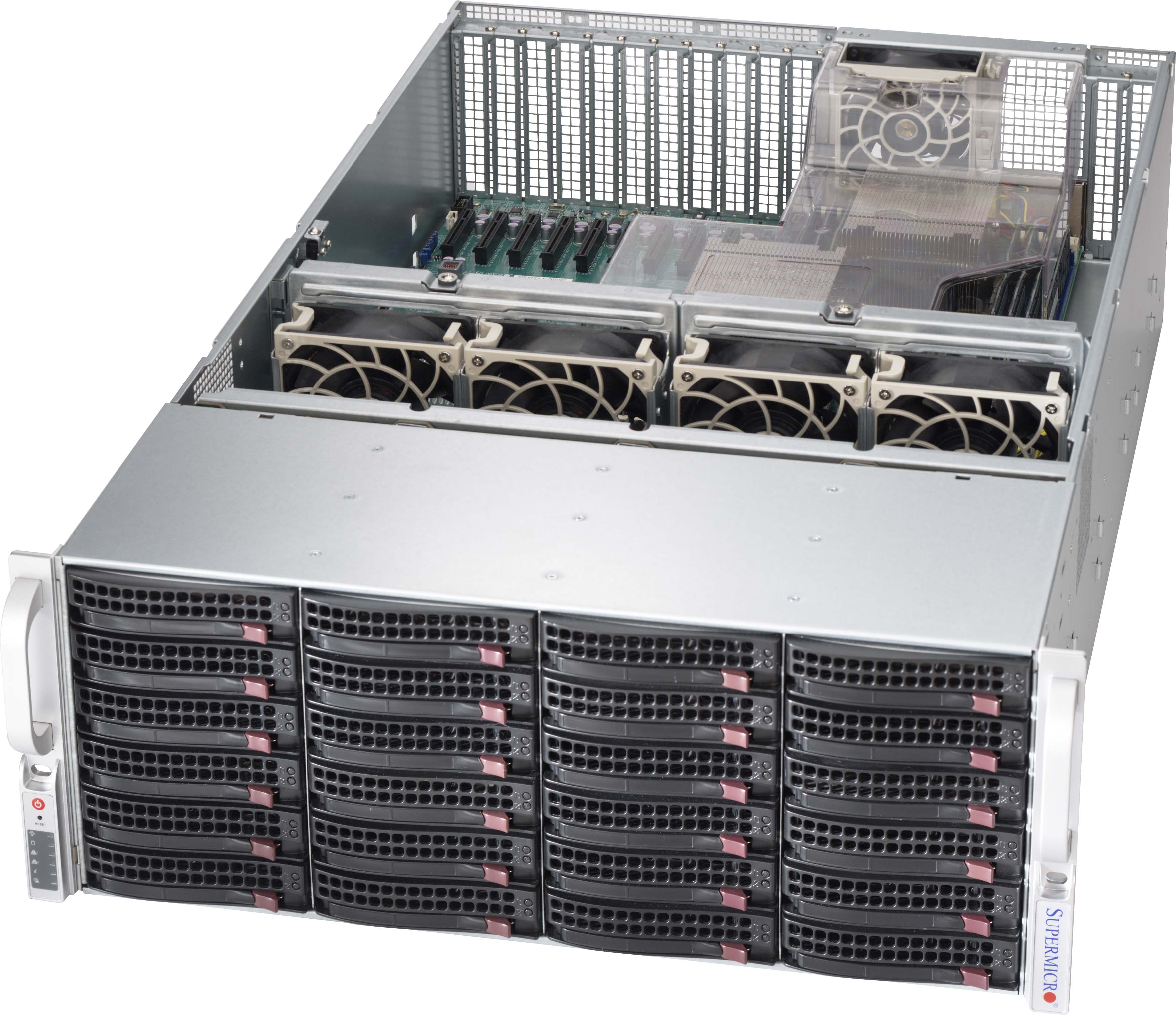 Sc846xe2c R1k23b 4u Chassis Products Super Micro
