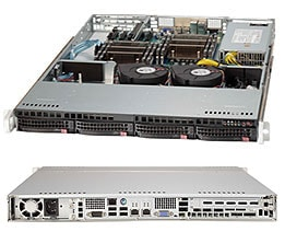 SC813T-600CB | 1U | Chassis | Products | Super Micro