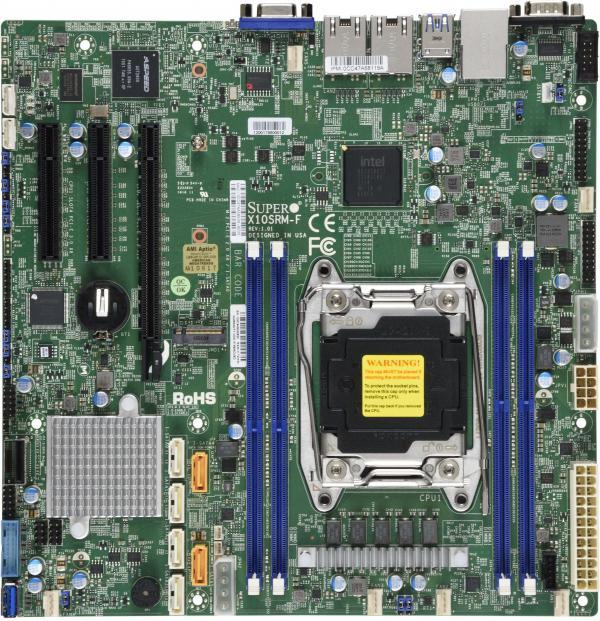 Supermicro Motherboard Xeon Boards X10SRM-F