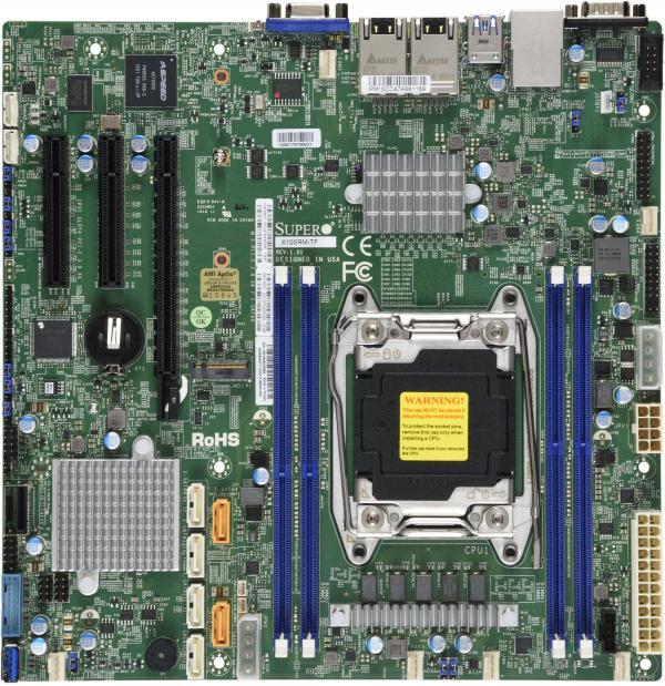 Supermicro Motherboard Xeon Boards X10SRM-TF