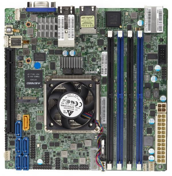 Supermicro Motherboard Xeon Boards X10SDV-4C+-TLN4F