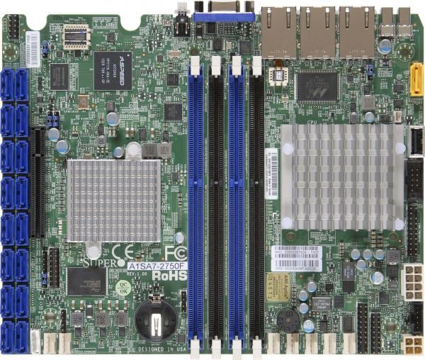 Supermicro Motherboard Xeon Boards A1SA7-2750F