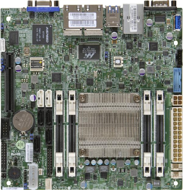 Supermicro Motherboard Xeon Boards A1SRi-2758F