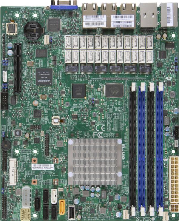 Supermicro Motherboard Xeon Boards A1SRM-LN7F-2758