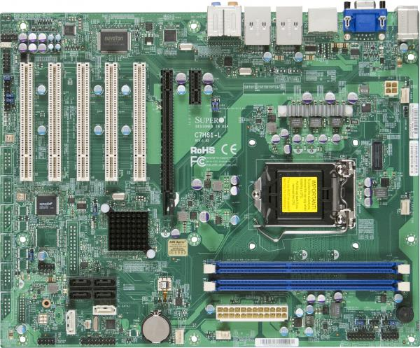 Supermicro Motherboard Xeon Boards c7h61-l