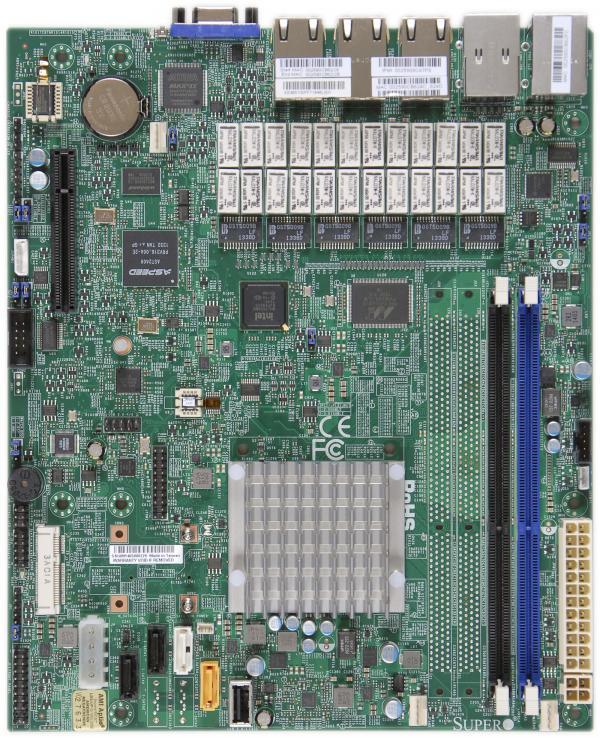 Supermicro Motherboard Xeon Boards A1SRM-LN7F-2358