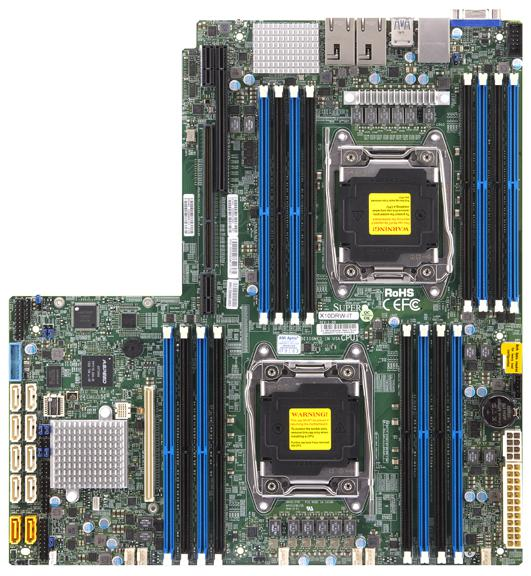 Supermicro Motherboard Xeon Boards X10DRW-i