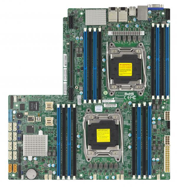 Supermicro Motherboard Xeon Boards X10DRW-NT