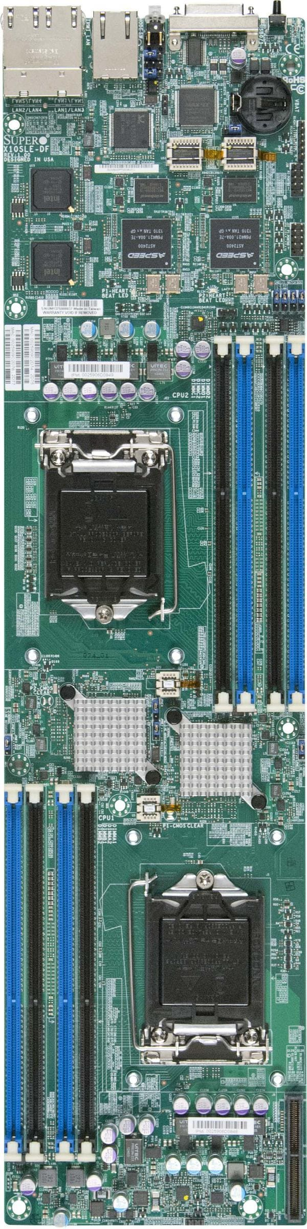 Supermicro Motherboard Xeon Boards X10SLE-DF