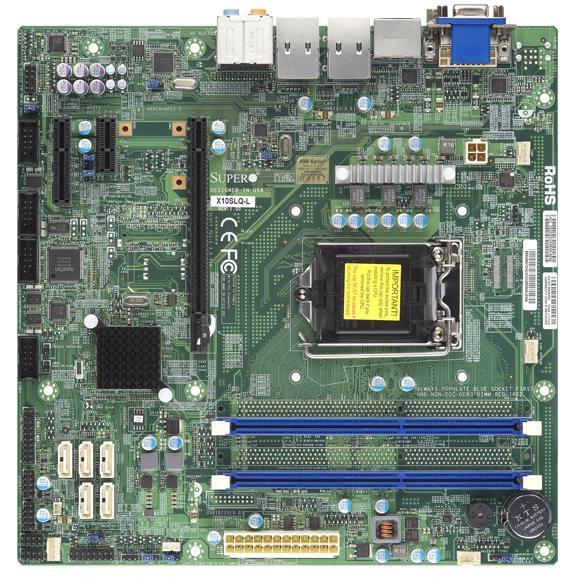 Supermicro Motherboard Xeon Boards X10SLQ-L