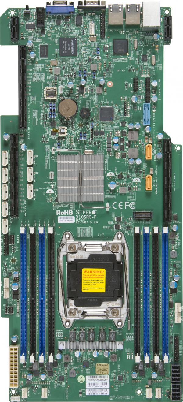 Supermicro Motherboard Xeon Boards X10SRG-F