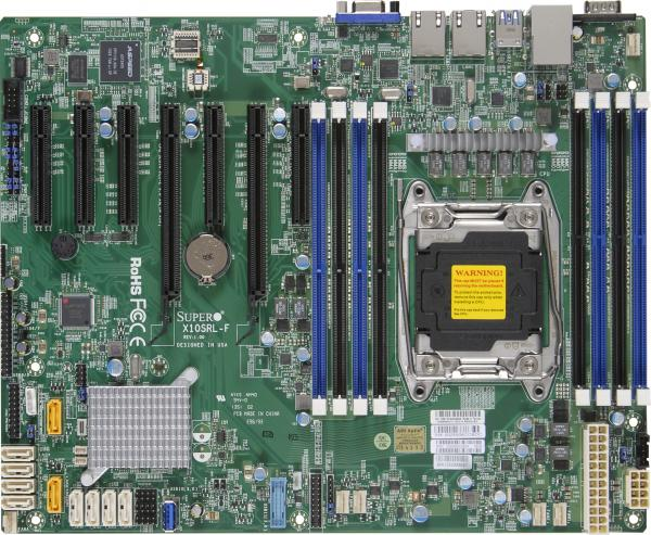 Supermicro Motherboard Xeon Boards X10SRL-F
