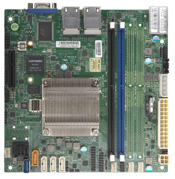 Supermicro Motherboard Xeon Boards A2SDi-2C-HLN4F