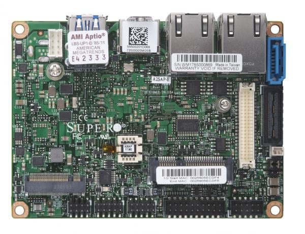 Supermicro Motherboard Xeon Boards A2SAP-E