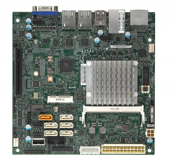 Supermicro Motherboard Xeon Boards A2SAV
