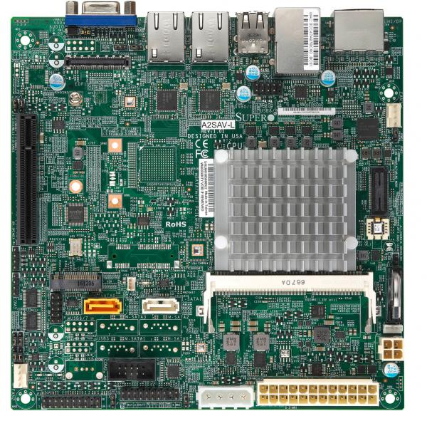 Supermicro Motherboard Xeon Boards A2SAV-L