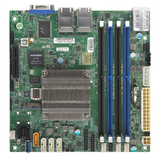 Supermicro Motherboard Xeon Boards A2SDi-4C-HLN4F