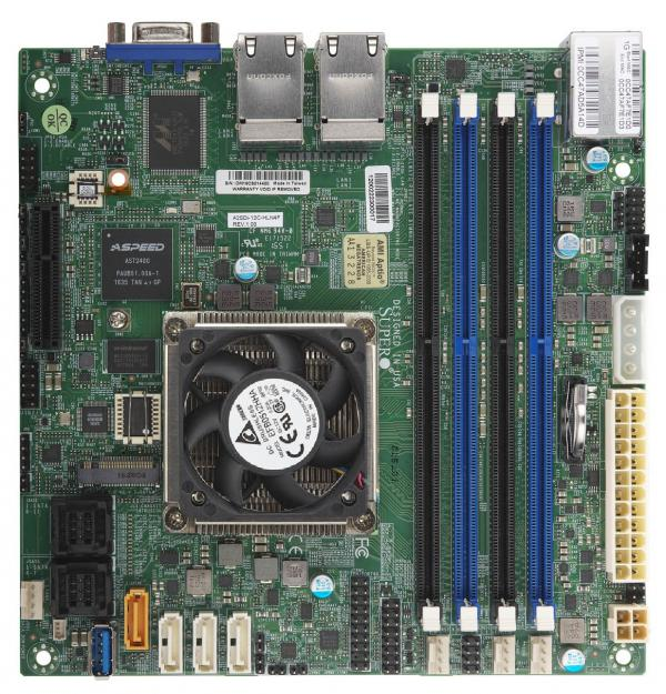 Supermicro Motherboard Xeon Boards A2SDi-8C+-HLN4F