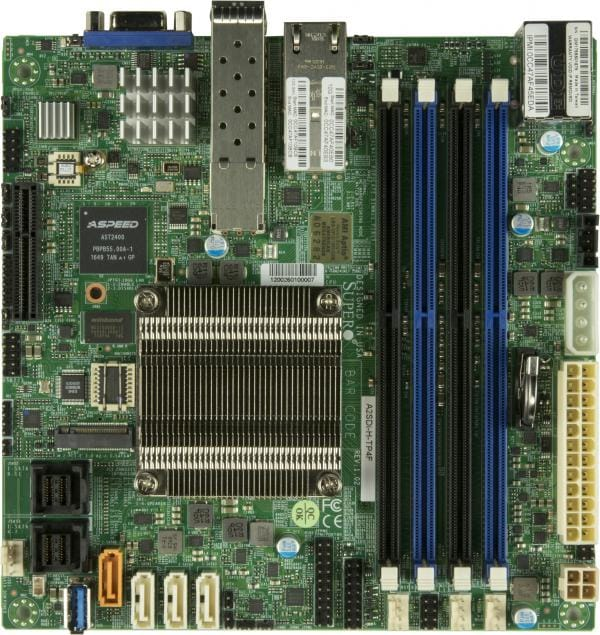 Supermicro Motherboard Xeon Boards A2SDi-H-TP4F