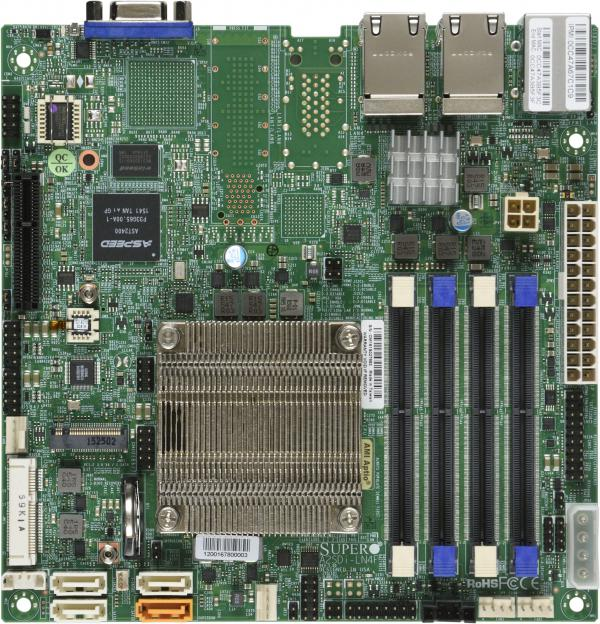 Supermicro Motherboard Xeon Boards A2SDi-LN4F