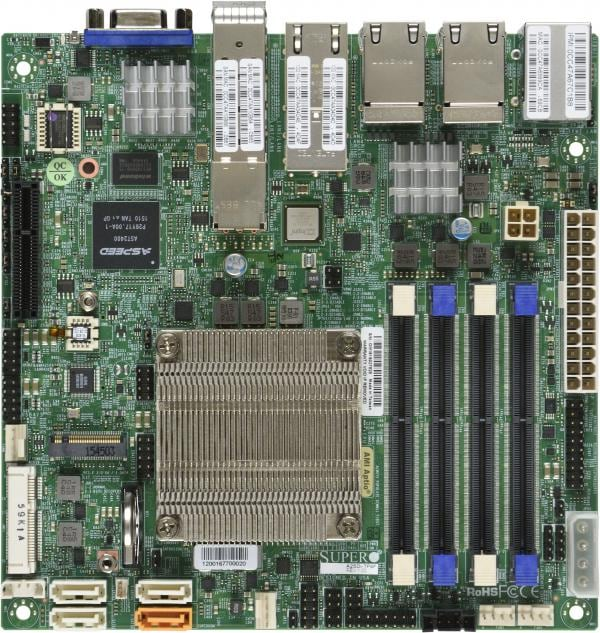 Supermicro Motherboard Xeon Boards A2SDi-16C-TP8F