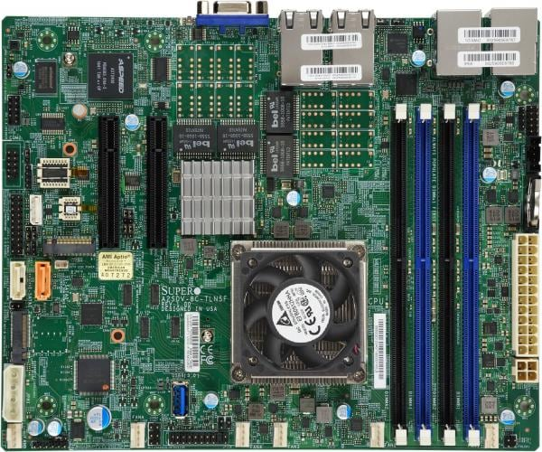 Supermicro Motherboard Xeon Boards A2SDV-12C+-TLN5F