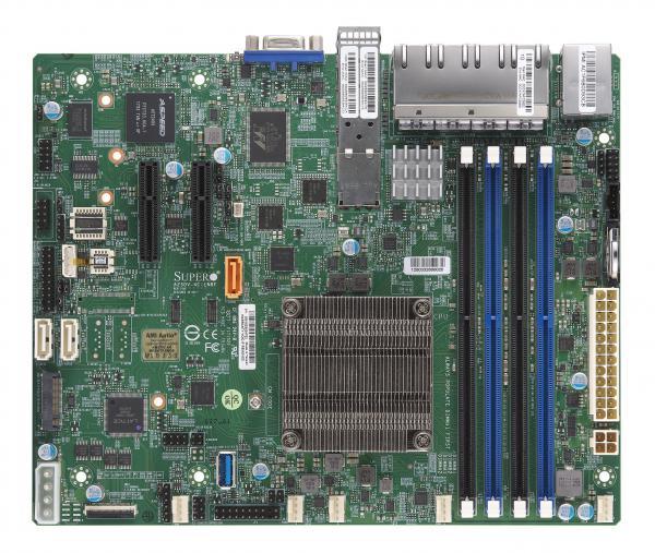 Supermicro Motherboard Xeon Boards A2SDV-4C-LN10PF