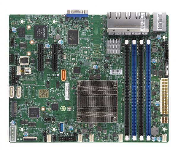 Supermicro Motherboard Xeon Boards A2SDV-4C-LN8F