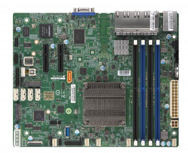Supermicro Motherboard Xeon Boards A2SDV-8C-LN8F
