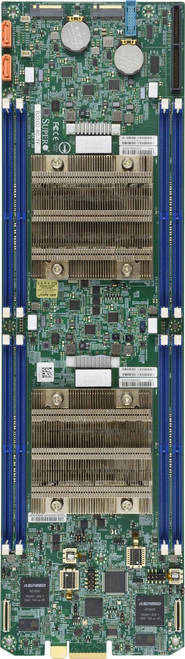 Supermicro Motherboard Xeon Boards B2SD2-16C-TF