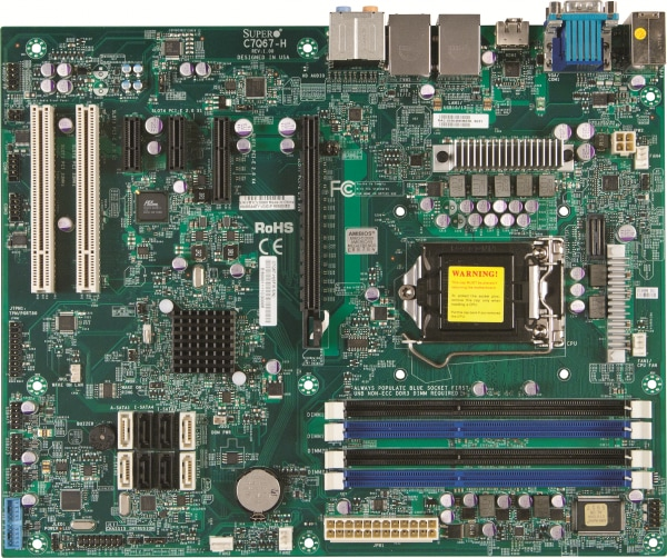 C7Q67-H | Motherboards | Products | Super Micro Computer, Inc