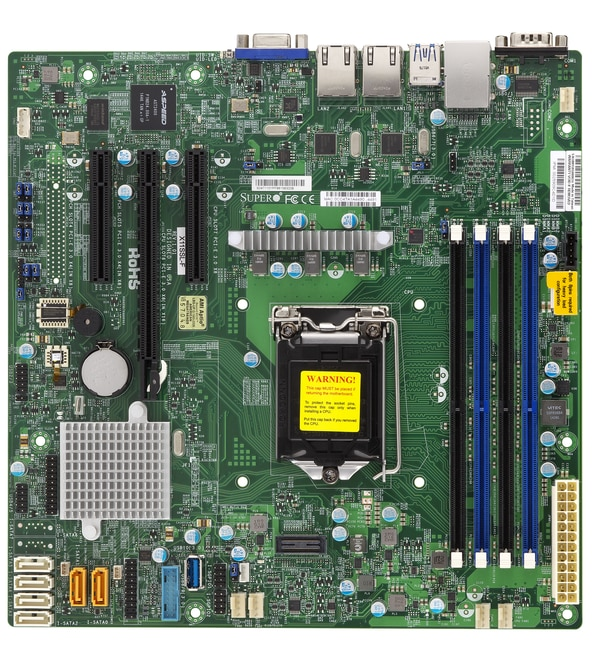Supermicro Motherboard Xeon Boards X11SSL-F