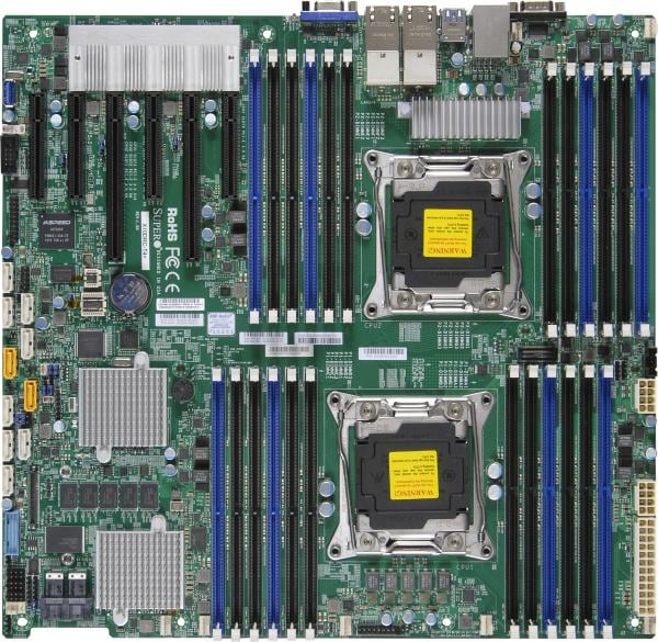 Supermicro Motherboard Xeon Boards X10DRC-LN4+