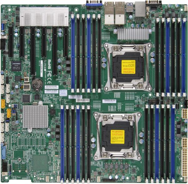 Supermicro Motherboard Xeon Boards X10DRi-LN4+