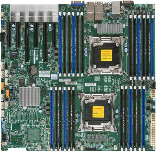 Supermicro Motherboard Xeon Boards X10DRC-T4+