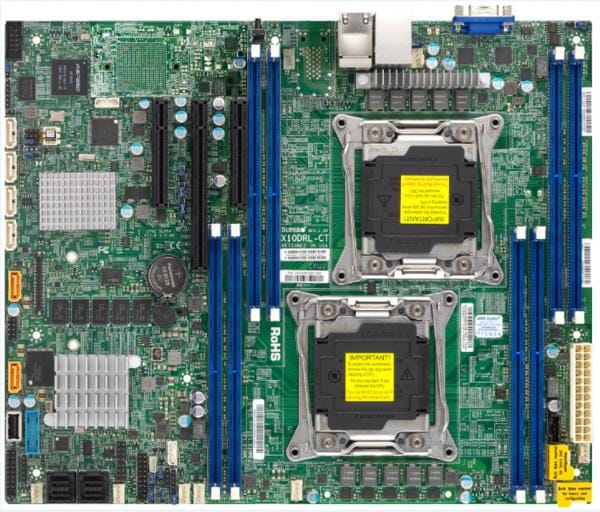 Supermicro Motherboard Xeon Boards X10DRL-C