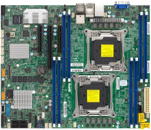 Supermicro Motherboard Xeon Boards X10DRL-CT