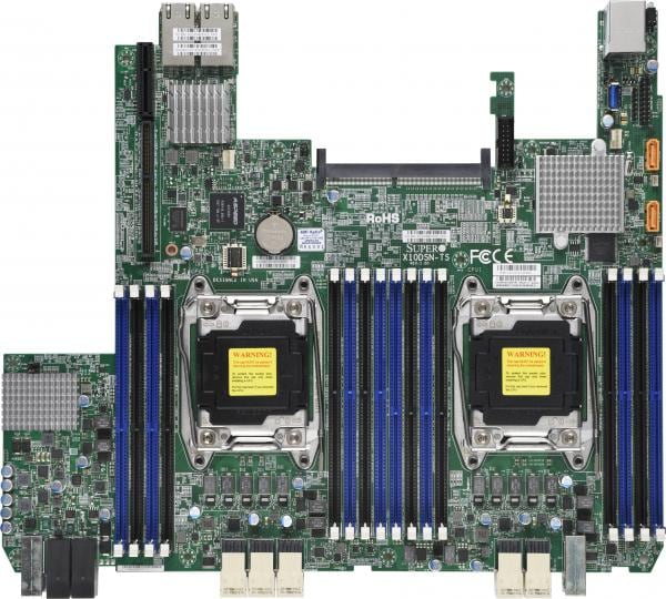 Supermicro Motherboard Xeon Boards X10DSN-TS