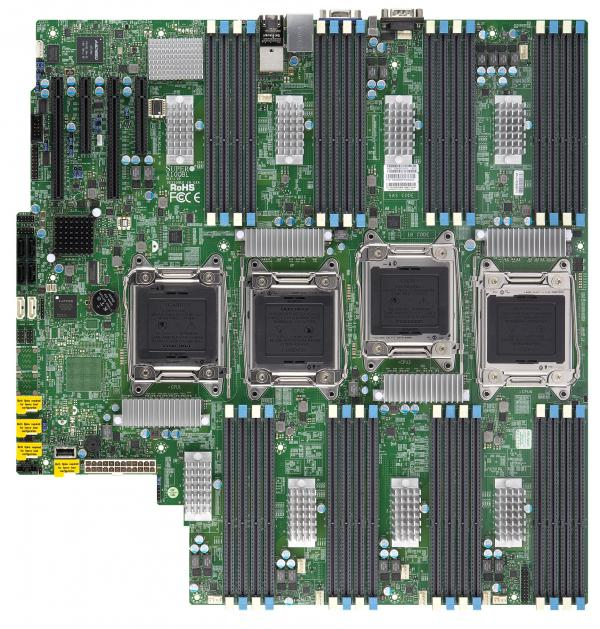 Supermicro Motherboard Xeon Boards X10QBL-CT