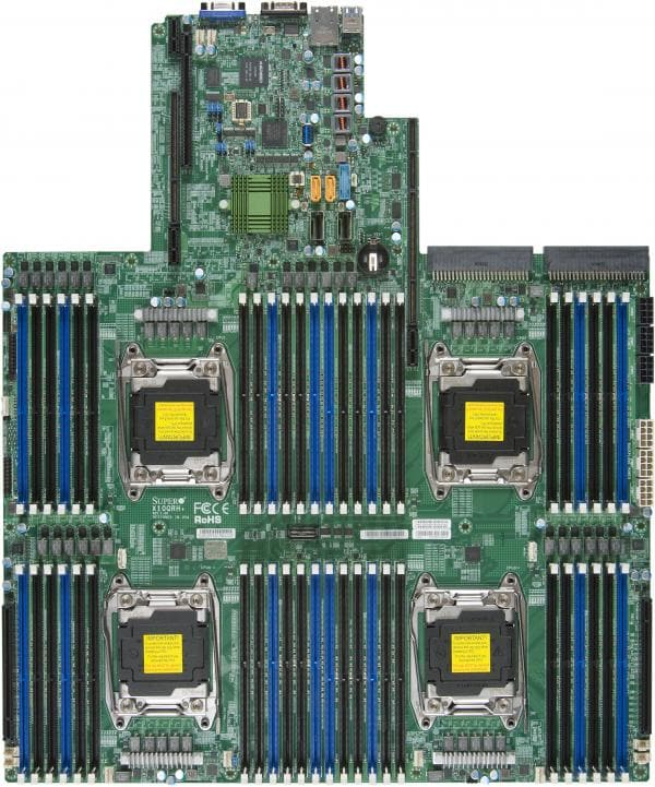 Supermicro Motherboard Xeon Boards X10QRH+