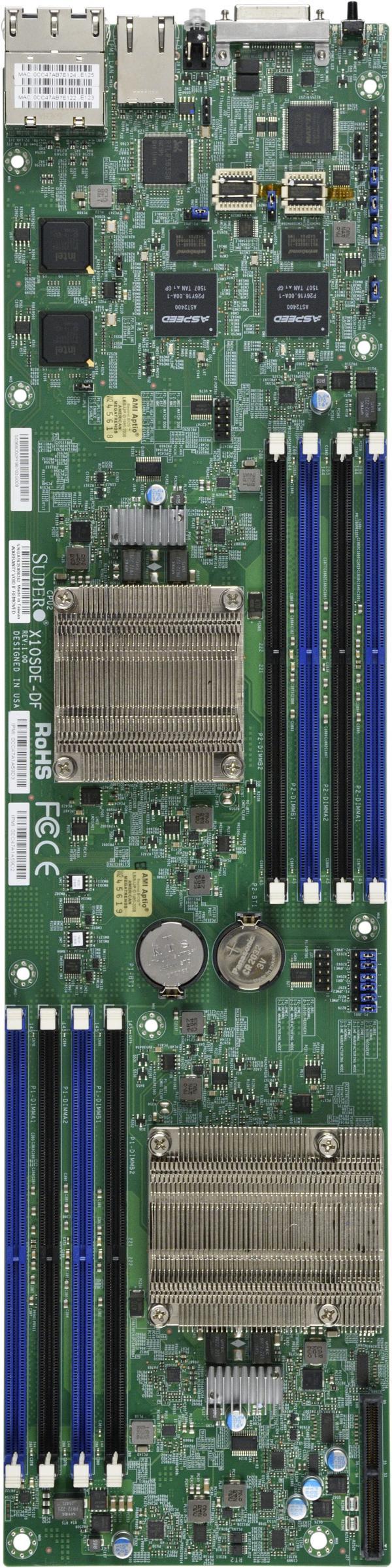 Supermicro Motherboard Xeon Boards X10SDE-DF