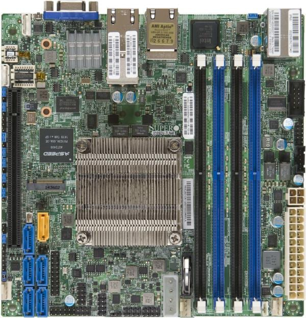 Supermicro Motherboard Xeon Boards X10SDV-8C-TLN4F