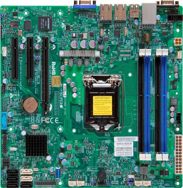 Supermicro Motherboard Xeon Boards X10SLL-F