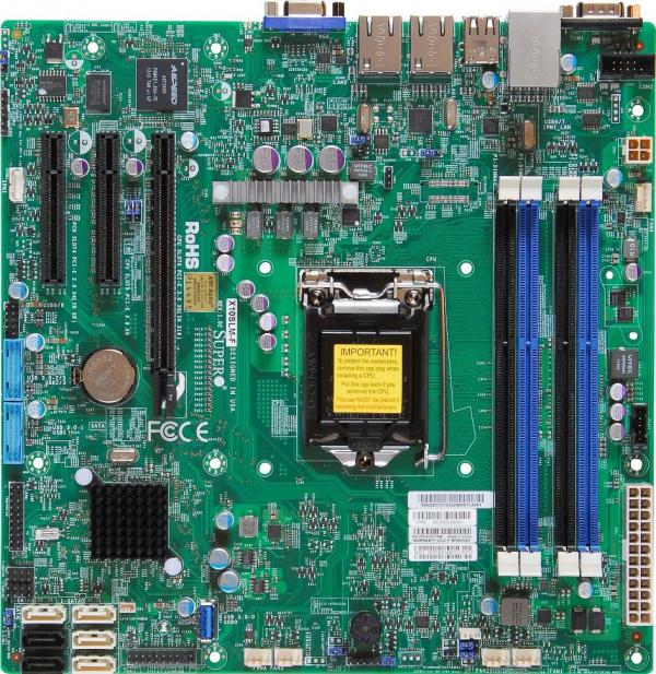 Supermicro Motherboard Xeon Boards X10SLM-F