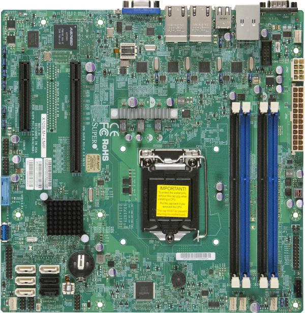 Supermicro Motherboard Xeon Boards x10slm+-ln4f