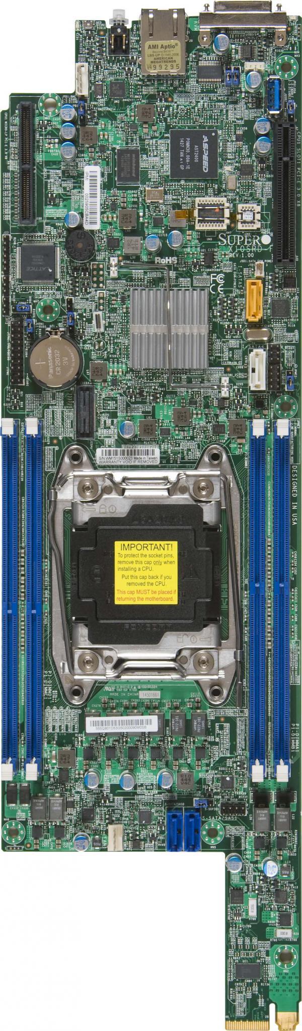 Supermicro Motherboard Xeon Boards X10SRD-F