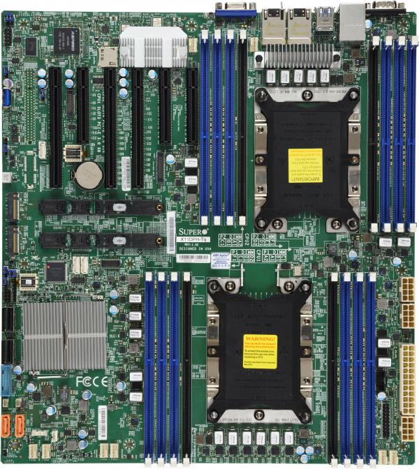 Supermicro Motherboard Xeon Boards X11DPH-TQ