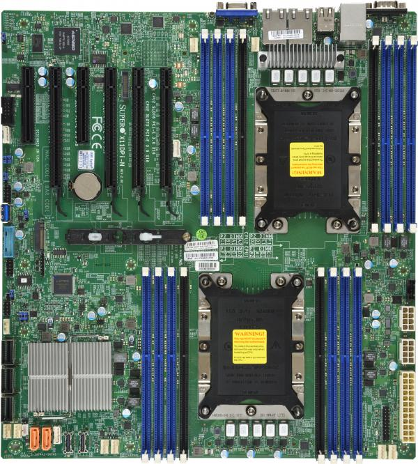 Supermicro Motherboard Xeon Boards X11DPi-N