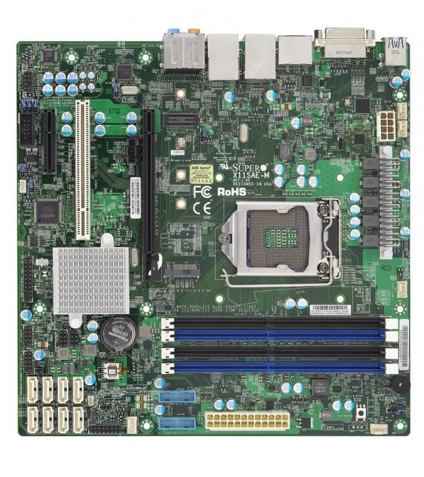 Supermicro Motherboard Xeon Boards X11SAE-M